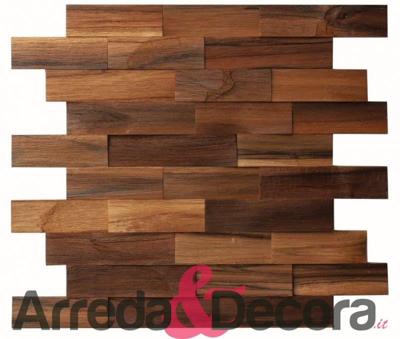 Mosaico in legno mod. Tropicana Natura