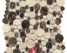 mosaico in marmo andromeda dune 1