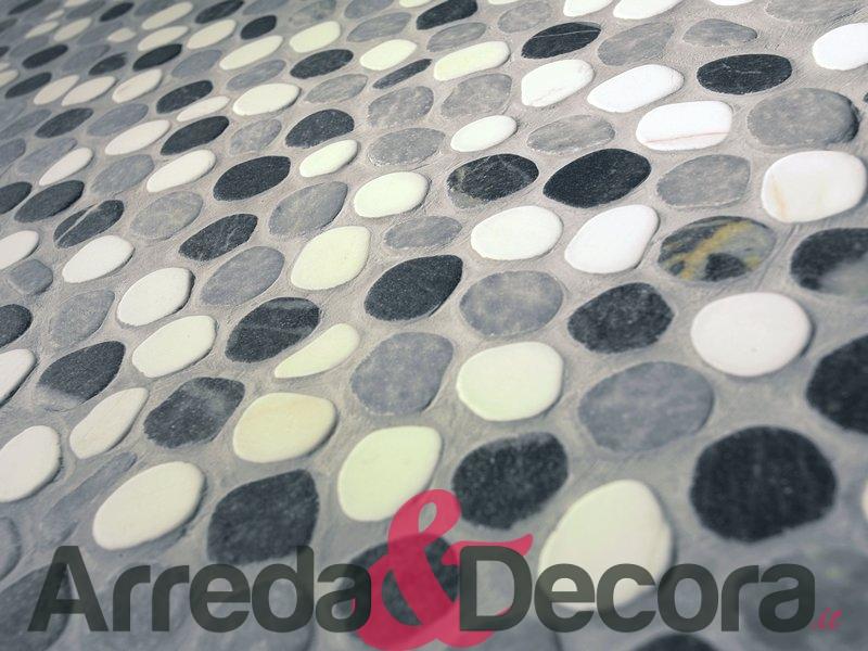 I ciottoli romani marmi anticati ciottoli rosoni mosaici