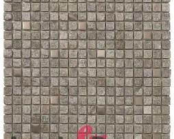 mosaico in pietra e acciaio inox KRAKATOA dune 1