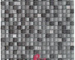 mosaico in vetro acciaio con glitter mod. PLEYADES dune 1