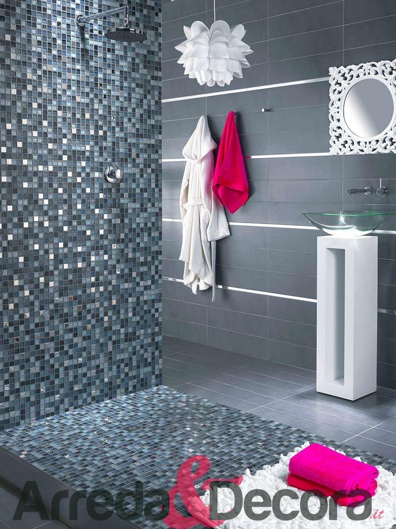 Rivestimento in pietra nera - Piastrelle bagno mosaico prezzi ...