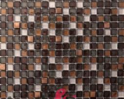 mosaico in vetro glitter mod. CASSIOPEIA dune 1