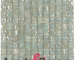In Saldo! Mosaico In Vetro Per Bagni Bianco Mod. Cayman Nacar Dune 1
