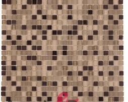 mosaico in vetro per bagni mod. micro beige dune 1