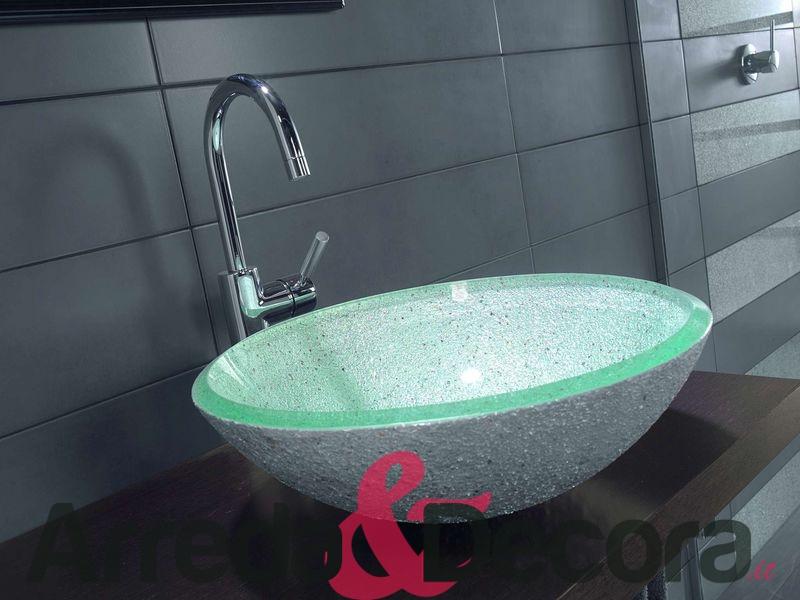 Lavandino in cristallo termosifoni in ghisa scheda tecnica - Lavandino bagno vetro ...