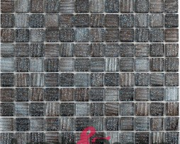 mosaico glitter nero