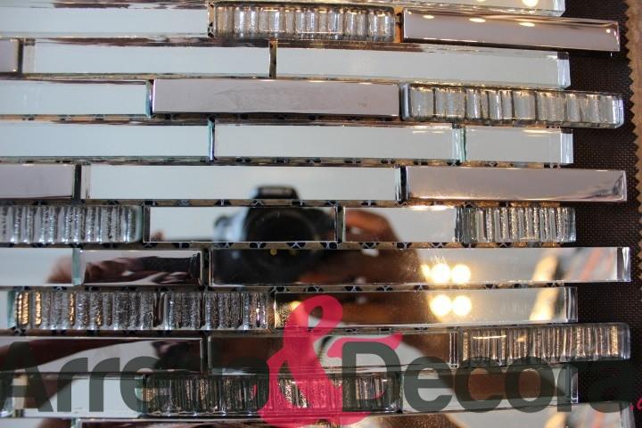 Mosaico in vetro serie elegante mod specchio - Specchio mosaico vetro ...