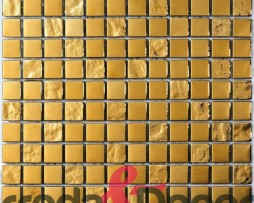 mosaico gold in vetro oro