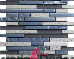 mosaico irregolare grigio agglomerato