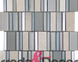 mosaico rettangolare chamoagne particolare
