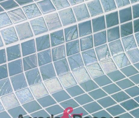 Mosaico serie vulcano mod irazu in vetro 2 mq ezarri - Mosaico per bagno doccia ...