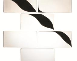 Mosaico in Acciaio mod Argento Chasseur EW-CHAPBB