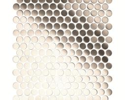 Mosaico in Acciaio mod Silver Artillery EW-ARTBPR