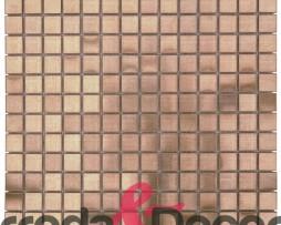 Mosaico in Acciaio mod. Bronzo Opaco MEBR01