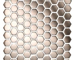 Mosaico in Acciaio mod. Argento Spazzolato Dragon EW-DRGBH