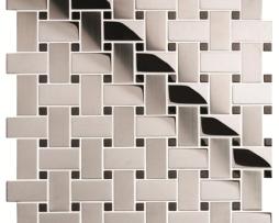 Mosaico in Acciaio mod. Argento Spazzolato HIghlander EW-HIGBW