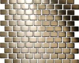 Mosaico in Acciaio mod. Argento Spazzolato Lancer EW-LANB2X3