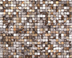 Mosaico in Acciaio mod. Artistico Jules Verne EW-JUVEP