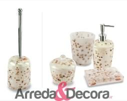 accessori bagno conchiglie mare perla antille cipi