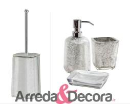 accessori con foglia argento