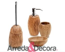 accessori in legno bagno suar cipi
