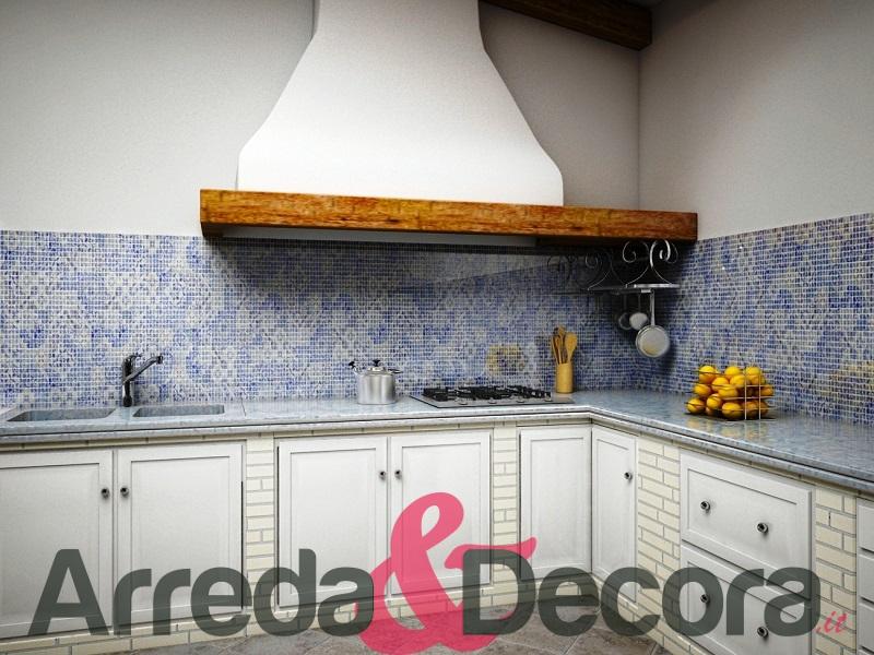 Mosaico in cucina cool ispirazione per cucina moderna con piastrelle in mosaico di colore - Mosaico per cucina ...