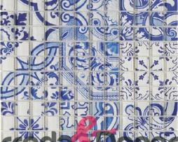 mosaico in vetro per cucine e bagno blu marrakech faenza 2