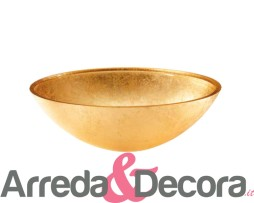 lavabo oro vetro 6009 ovale
