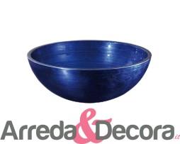 lavabo vetro blu anticato 5318 40 centimentri