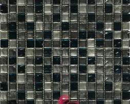 mosaico-grigio e nero in vetro-altair