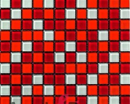 mosaico rosso bianco rojo