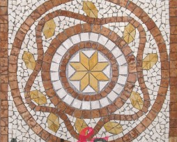 Mosaico rosone cloe 66x66