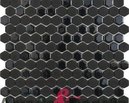 mosaico esagonale nero hip hop