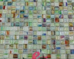 mosaico verde mixato