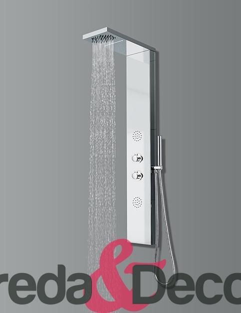 Colonna doccia in acciaio inox lucido mod. New York
