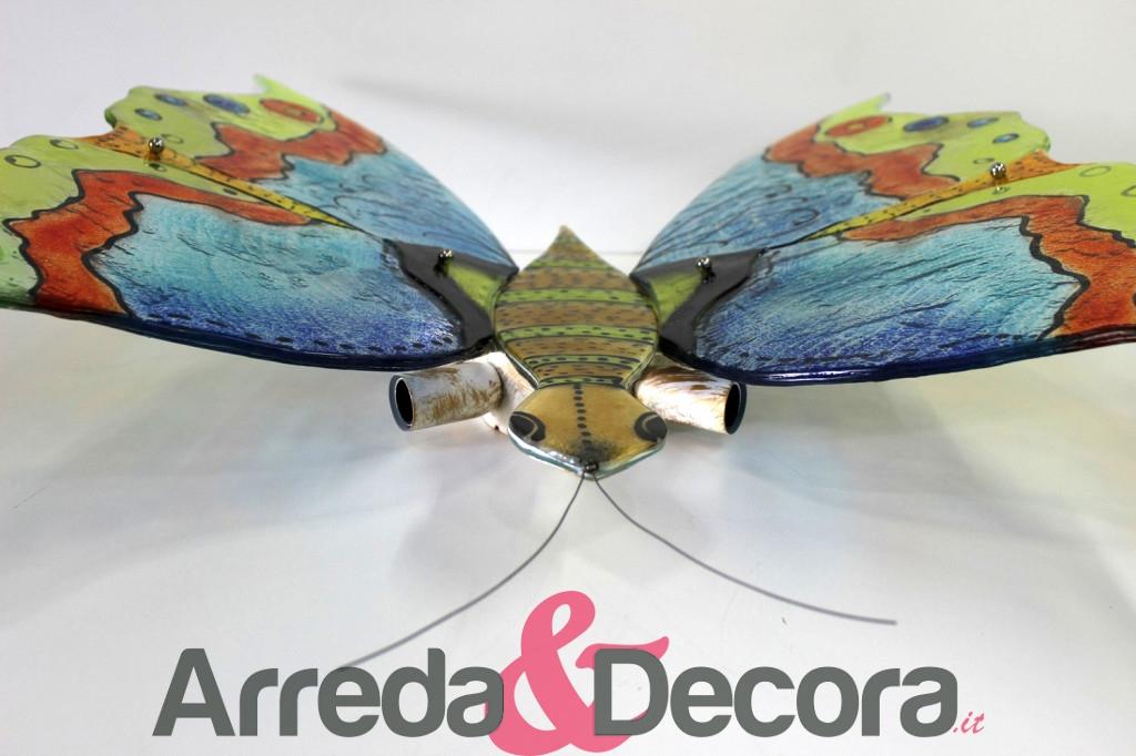 applique a forma di farfalla in vetro 3