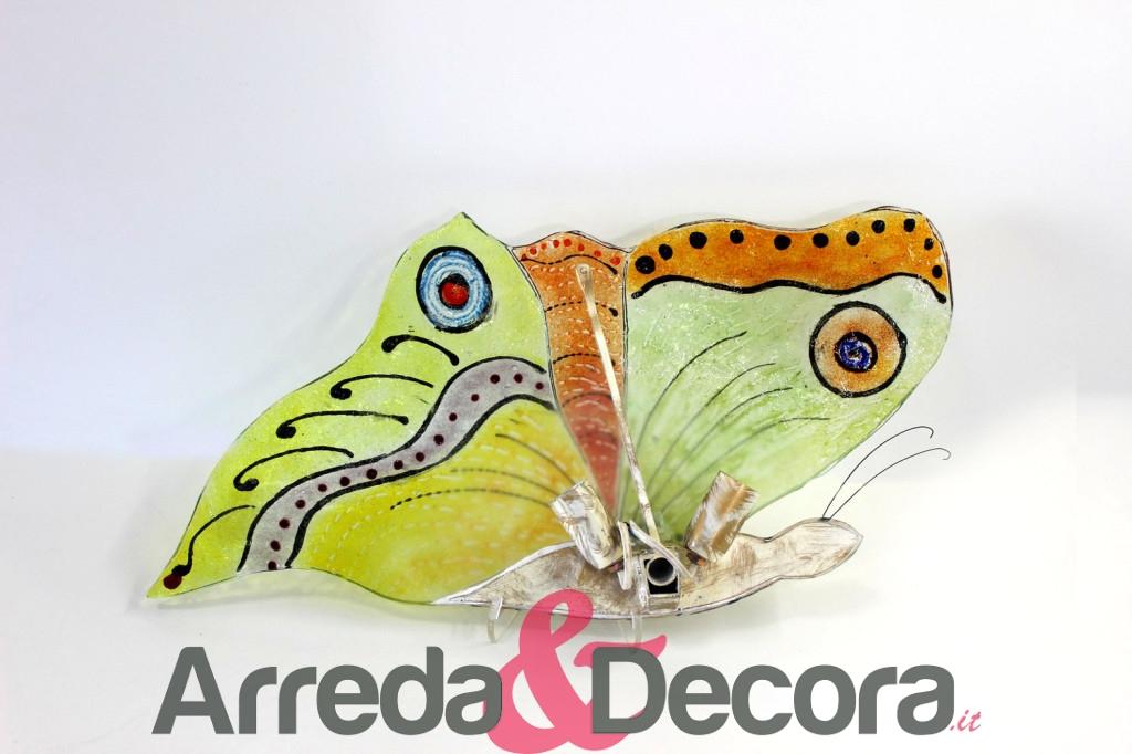 retro applique farfalla