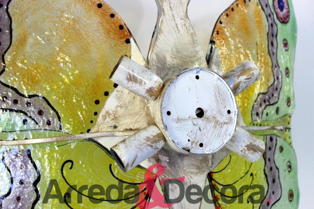 retro plaffoniera a forma di farfalla
