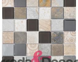 mosaico beige rettangolare 1