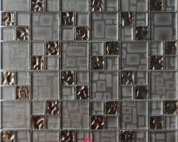 mosaico grigio tortora