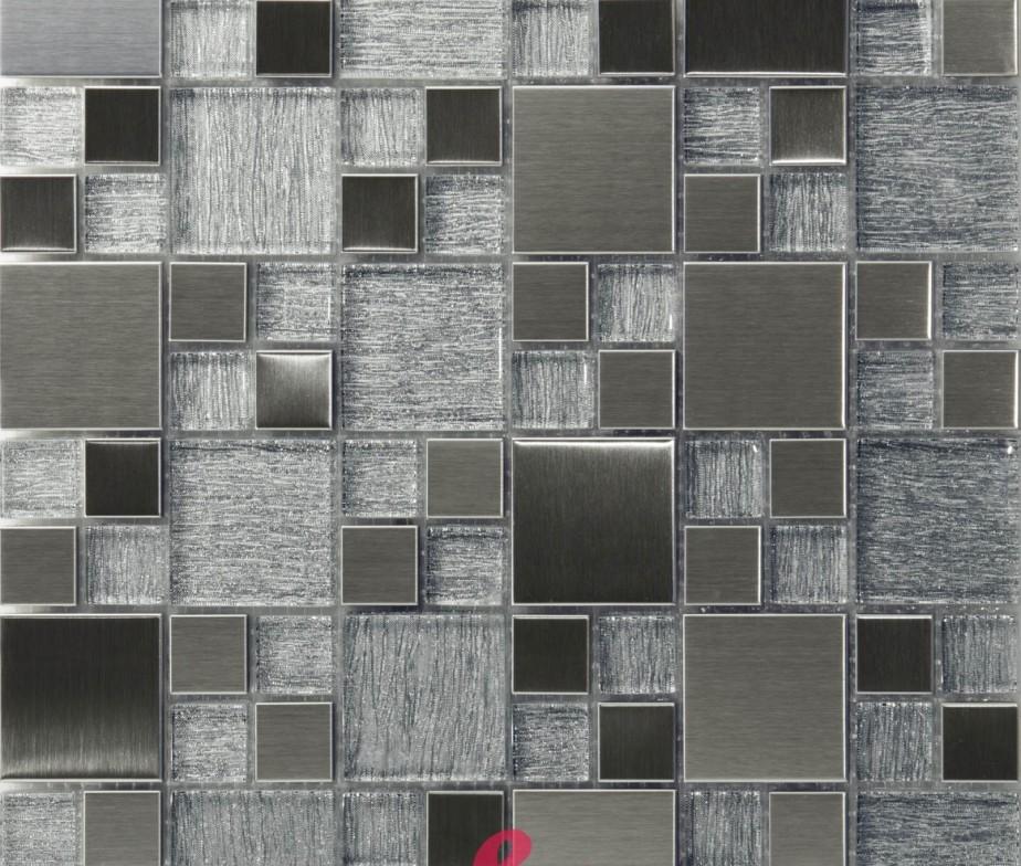 Bagno mosaico argento - Decora la stanza ...