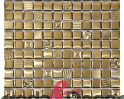 mosaico oro lisa 1