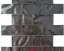 muretto in vetro marrone