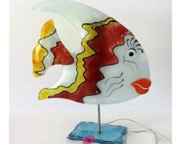 lampada a forma di pesce
