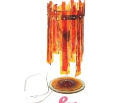 lampada arancione listelli