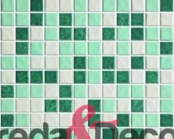 mosaico verde mix
