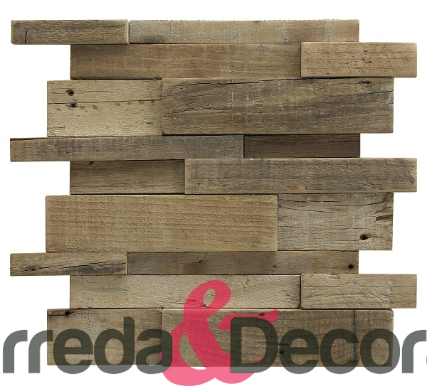 Mosaico in legno naturale serie wood