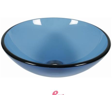 Lavabo azzurro