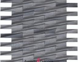 mosaico-in-marmo-grigio-a-incastro